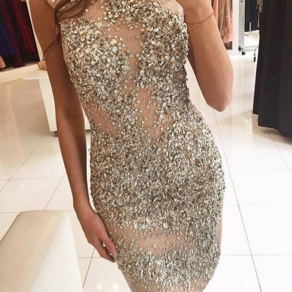 Heavily Beading Cocktail Dresses St..
