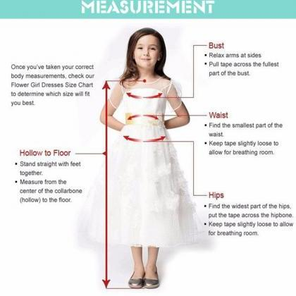 Flower Girl Dresses, Stain Floor-Le..