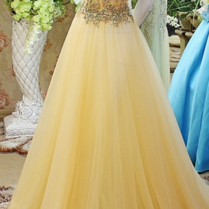 Beaded Prom Dress,Off The Shoulder ..
