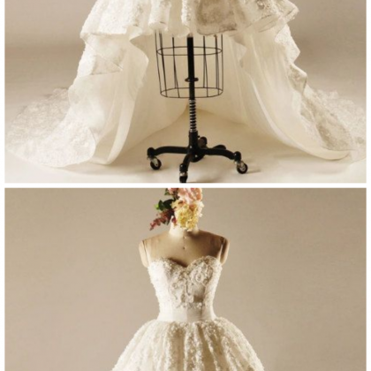Sweetheart Wedding Dresses,Lace We..