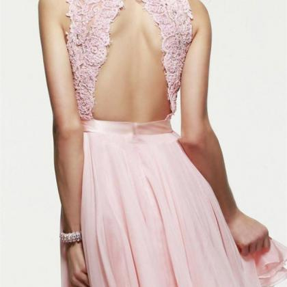 Backless Graduation Dresses Classic..