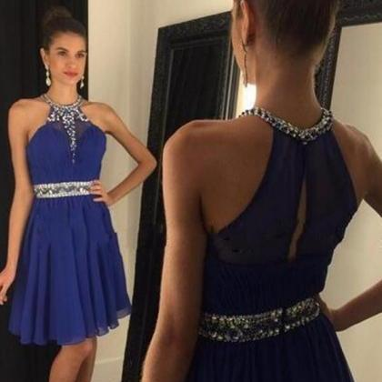 Royal Blue Homecoming Dress,Sparkle..