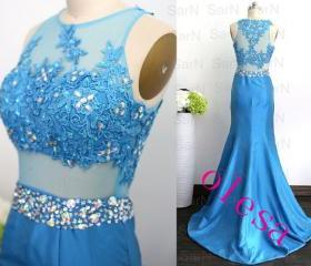 Mermaid Taffeta Blue..