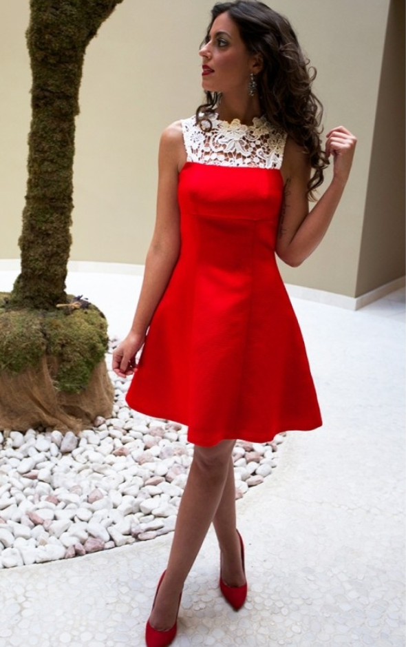 Homecoming Dresscocktail Dresshomecoming Dressesred Short Satin