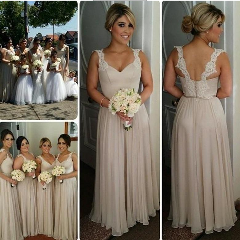 b101d2c358c Long Bridesmaid Dress