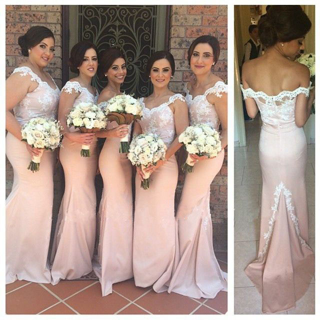 b7e282dc39ea Long Bridesmaid Dress