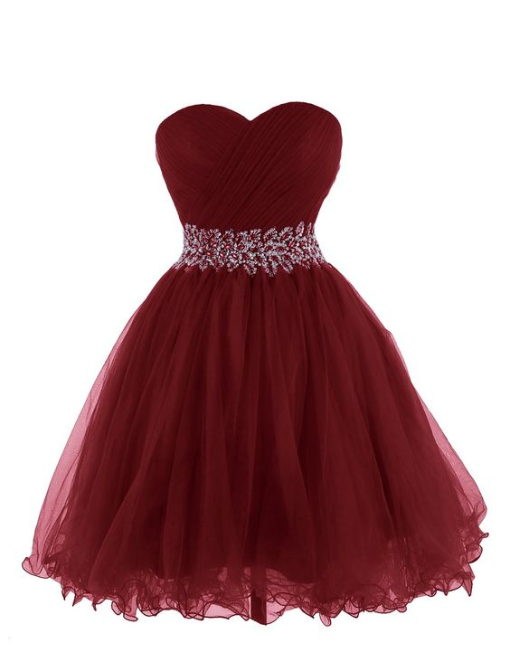 6555de525d Burgundy Homecoming Dress