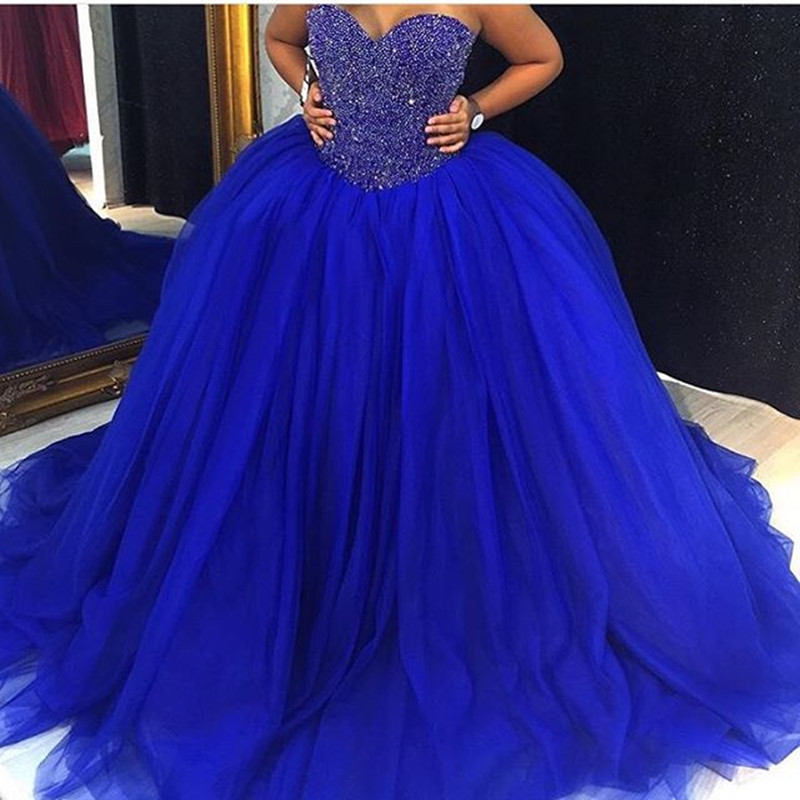 Plus Size Royal Blue Sweet 16 Dresses – Fashion dresses