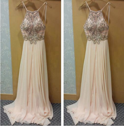 Prom Dresses,Evening Dress,Party Dresses,Blue Prom Dresses,Sexy Prom Dresses,Spaghetti Straps Evening Dresses,New Fashion Prom Gowns,Elegant Prom Dress,Princess Prom Dresses,Chiffon Evening Gowns,Formal Dress,Evening Gown