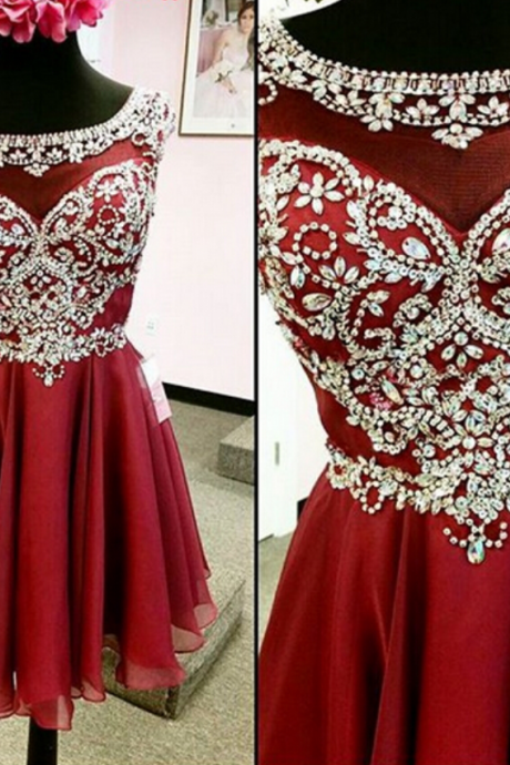 cheap homecoming dresses short ,Beaded Red Homecoming dresses, homecoming dress, short homecoming dress, cheap homecoming dress, dresses for homecoming,