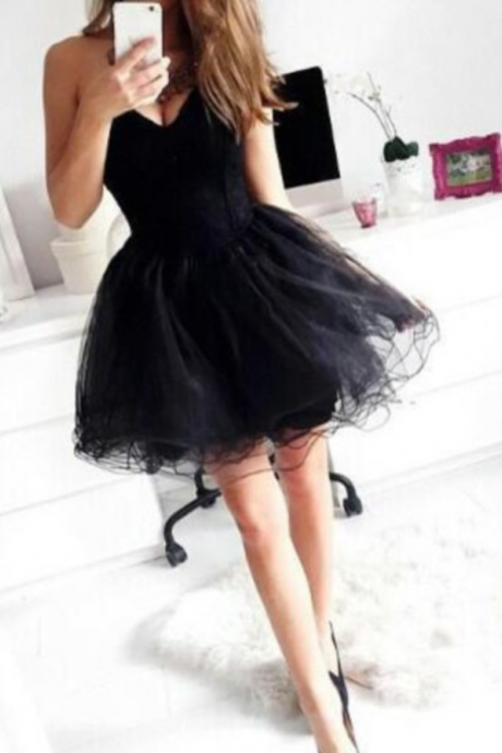 Cheap Short Graduation Dress,Tulle And Chiffon Graduation Dress,Sweetheart Graduation Dress,Dress For Graduation New Arrival