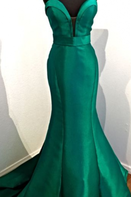 Charming Prom Dress,Green Prom Dress,Mermaid Prom Dress,Long Prom Dresses,Formal Evening Dress,Green Evening Gown