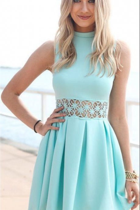 Homecoming Dress,Cocktail Dress,Blue Homecoming Dress,Homecoming Dresses,Homecoming Gowns,Short Prom Gown,Cute Sweet 16 Dress,Elegant Homecoming Dress,Charming Cocktail Dress,Parties Evening Gowns