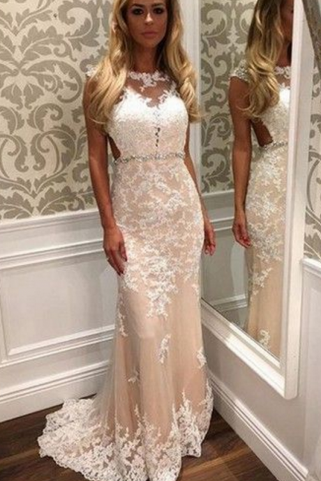 Appliques Prom Dress,Mermaid Prom Dress,Tulle Prom Dress,Charming Evening Dress,Formal Gowns with Appliques,Sexy Long Evening Dresses,Long Prom Dresses