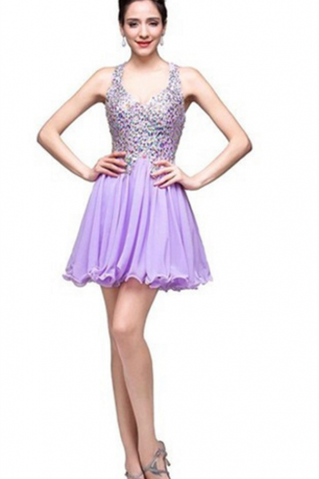 Homecoming Dresses Mini Homecoming Dresses A-line Homecoming Dresses Chiffon Homecoming Dresses Chiffon Party Dresses
