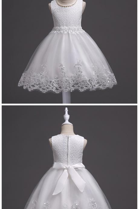Flower Girl Dresses Kids Evening Gowns For Wedding First Communion Dresses vestido comunion