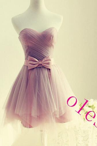 Cute Short Tulle Sweetheart Prom Dresses Short Prom Dresses Homecoming Dresses Graduation Dresses