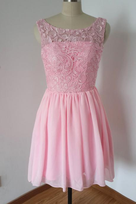Charming PROM Dress Lace EVENING Dress Brief PARTY Dress Short Noble Homecoming Dress