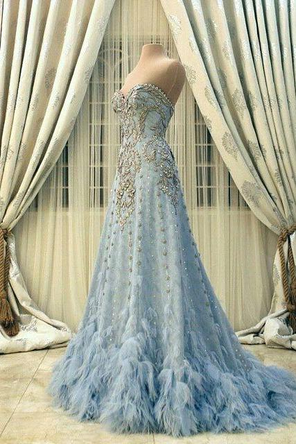 Blue Wedding Dresses - Luulla