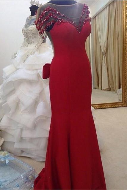 Prom Dresses,Evening Dress,Prom Dress,Prom Dresses,Red Prom Dresses,Prom Dress,Red Prom Gown,Prom Gowns,Elegant Evening Dress,Modest Evening Gowns,Simple Party Gowns