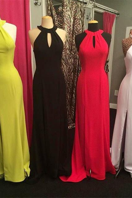 Prom Dresses,Evening Dress,New Arrival Prom Dress,Modest Prom Dress,sexy halter top open back long mermaid bridesmaid dresses 2017