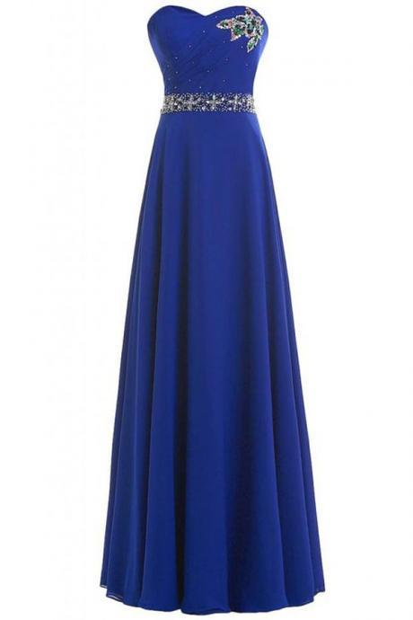 Prom Dresses,Evening Dress,Prom Gown,Royal blue Prom Dresses,Evening Gowns,Formal Dresses,Royal blue Prom Dresses