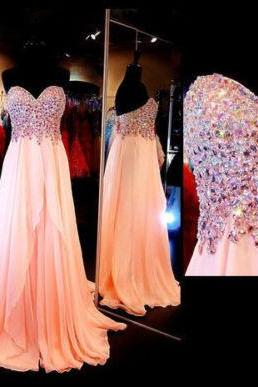 Prom Dresses,Evening Dress,Long Prom Dresses,Chiffon Long Prom Dress Party Pageant Formal Evening Gowns