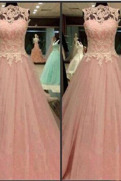 Prom Dresses,Evening Dress,Long Prom Dresses,Sleeveless Prom Dresses,Prom Dress With Lace,Custom Prom Dresses,Pretty Prom Dresses,Discount Prom Dresses