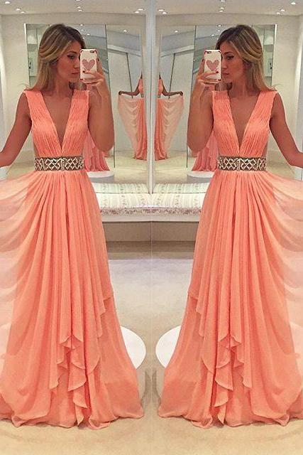 Prom Dresses,Evening Dress,Chiffon Prom Dresses,Beaded Prom Dress,Beadings Prom Gown,Chiffon Prom Dresses,Sexy Evening Gowns,Evening Dresses