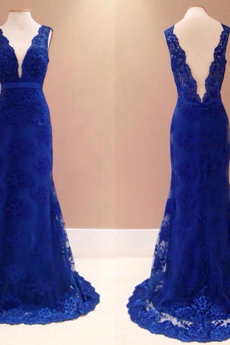Prom Dresses,Evening Dress,Mermaid Prom Gown,Royal Blue Evening Gowns,Party Dresses,Mermaid Evening Gowns,Sexy Formal Dress For Teens