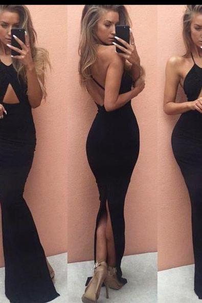 Prom Dresses,Evening Dress,New Arrival Prom Dress,Chic prom dress,stylish black mermaid long prom dresses,formal dress,party gown