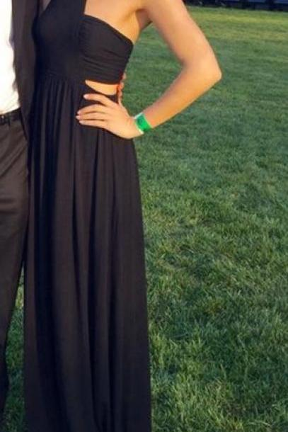 Prom Dresses,Evening Dress,Black Prom Dresses,Prom Dress,Chiffon Prom Dress,Long Prom Dresses,2017 Formal Gown,Evening Gowns For Teens