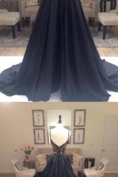 Prom Dresses,Evening Dress,New Arrival Prom Dress,Black prom dress,lace long evening dresses,black lace formal dress,fashion dress for girls
