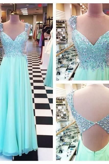 Prom Dresses,Evening Dress,Party Dresses,Prom Dresses,Prom Dresses,Mint Green Prom Dresses,Evening Dresses,New Fashion Prom Gowns,Elegant Prom Dress,Princess Prom Dresses,Chiffon Evening Gowns,Sparkle Formal Dress