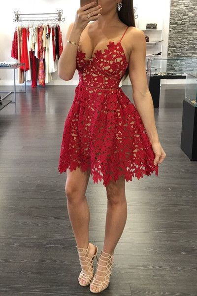 Red Homecoming Dress,Homecoming Dresses,Unique Homecoming Dress,Graduation Dress , Homecoming Dress ,Prom Dress for Teens