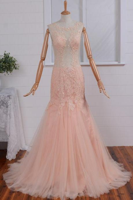 High quality 2017 arrival Sex Lace mermaid prom dress