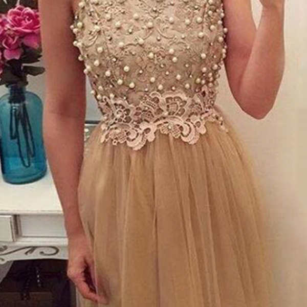 Cheap homecoming dresses High Fashion A-Line Jewel Cap Sleeves Short Homecoming Dress With Beading Lace
