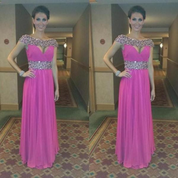 Prom Dresses,Pink Evening Gowns,Formal Dresses,Prom Dresses, Fashion Evening Gown,Beautiful Evening Dress,Pink Formal Dress,Prom Gowns